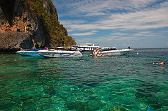 Khai island by speedboat