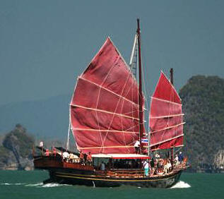 June Bahtra Chinese Junk