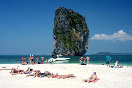 Photo of Phuket snorkeling tours at Poda Island with speedboat
