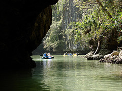 Phang Nga Kayak Camp and sea canoe stopover