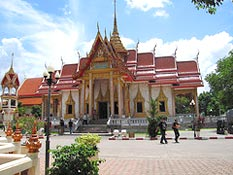 Wat Chalong Temple - most famous Thai Temple