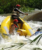 Phuket Package Tours for White Water Rafting